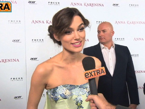 Video! Keira Knightley at the 'Anna Karenina' Premiere
