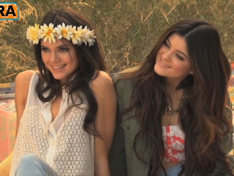 Video! Kendall and Kylie Jenner's PacSun Photo Shoot