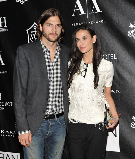 Ashton Kutcher and Demi Moore's 'DNA Foundation' Renamed