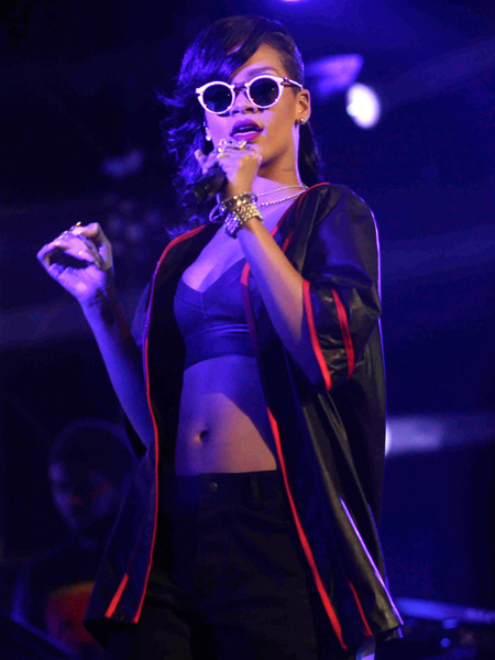Rihanna's 777 Tour Touches Down in Stockholm