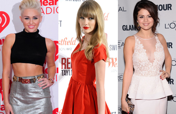 Miley Cyrus, Taylor Swift and Selena Gomez Recording a Song Together?