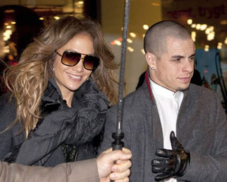 On Tour with Jennifer Lopez in Copenhagen