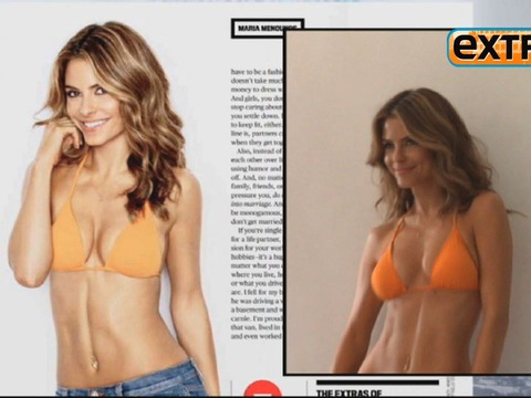 Video! Maria Menounos' Hot Photo Shoot