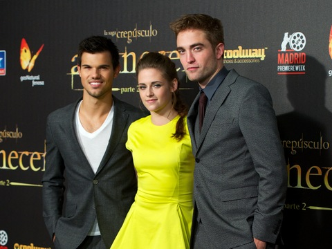 'Twilight' Tops Thanksgiving Box Office