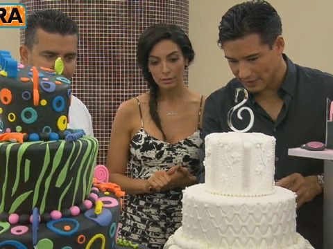 Countdown to Mario & Courtney's Wedding: The Cake