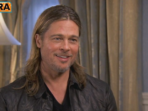 Brad Pitt on Engagement, Wedding Plans and 'Killing Them Softly'
