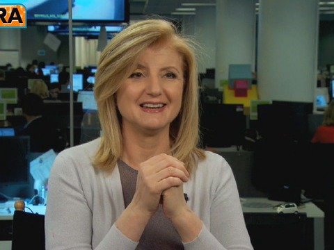 Video! Arianna Huffington on GPS for the Soul