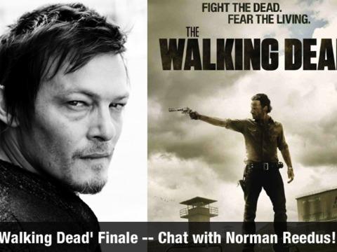 'Walking Dead' Finale Talk with Star Norman Reedus