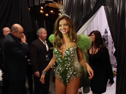 Video! Behind the Scenes at the Victoria's Secret Fashion Show