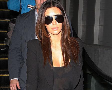 Kim Kardashian Causes Milkshake Mayhem in Bahrain