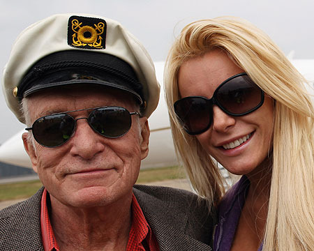 Hugh Hefner and Crystal Harris Are Getting Married… for Real?