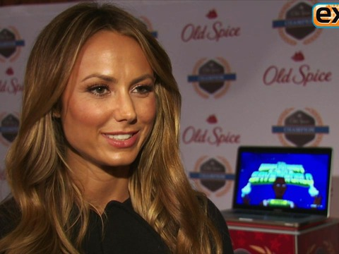 Video! Stacy Keibler Talks Holiday Plans