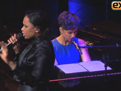 Alicia Keys and Jennifer Hudson Perform for a Good Cause