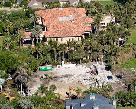 Extra Scoops: Elin Nordegren's Beachfront Mansion Under Construction
