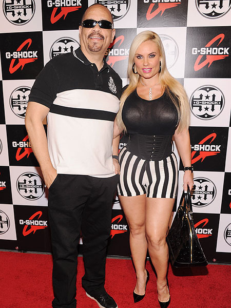 Ice-T Is Tweeting Mad at Pix of Wife Kissing Another Man