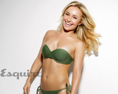 Hayden Panettiere Poses in Bikini, Tells Kermit Joke for Esquire