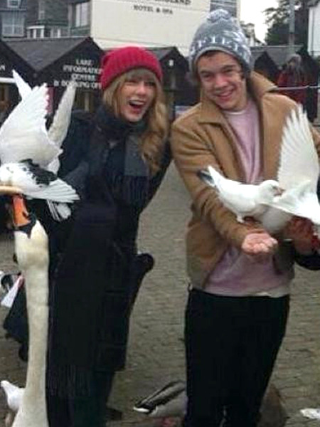 Taylor Swift Celebrates Birthday with Harry Styles