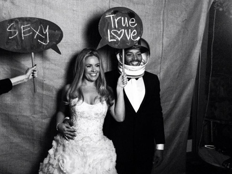 Pics! Jessica Simpson's BFF CaCee Cobb and Donald Faison Wed!