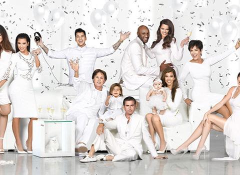Kim Unveils Kardashian Family Christmas Card!