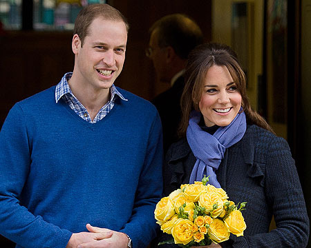 Prince William and Kate to Spend Christmas with Middleton Family