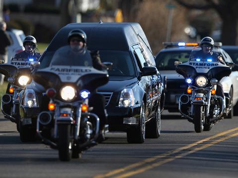 Funeral Held for Sandy Hook Hero Victoria Soto