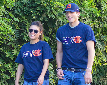 Ashton Kutcher Takes Mila Kunis Home for the Holidays