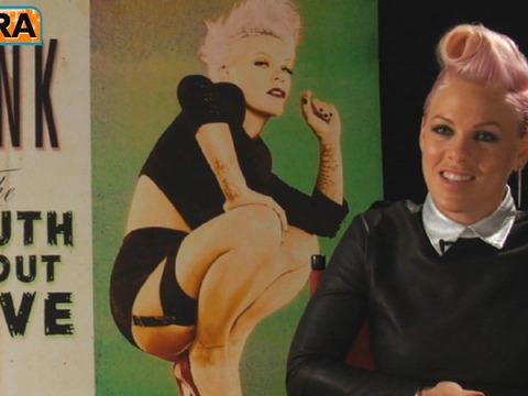 'Extra' Raw! Pink on Being a Rock and Roll Mom