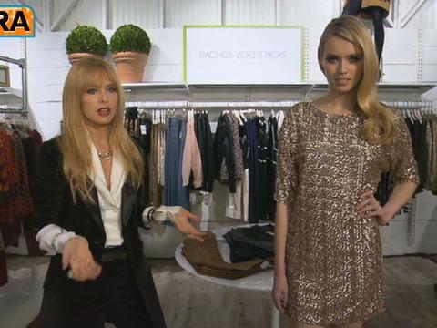 Video! Rachel Zoe on the Little Sequined Dress