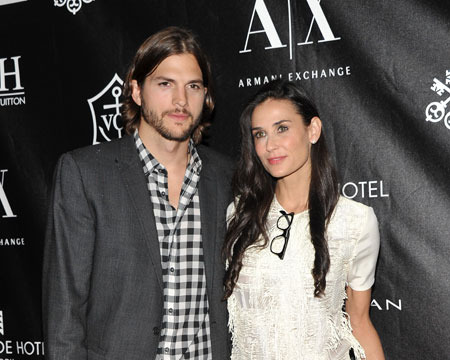Demi Moore Files for Divorce from Ashton Kutcher