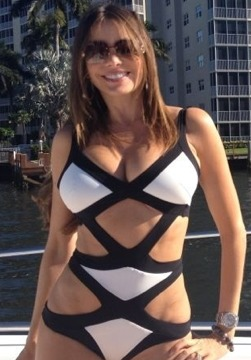 Sexy Pic! Sofia Vergara Looks Smokin' Hot on Vacation