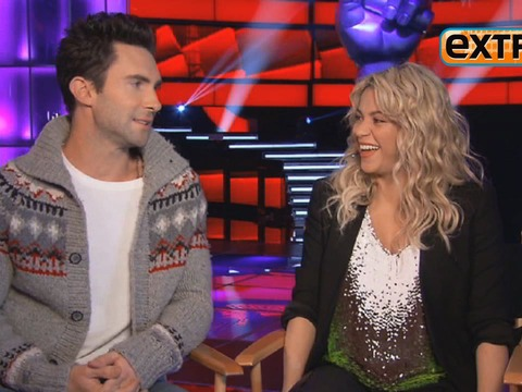 'Extra' Raw! Hangin' with 'The Voice' Coaches