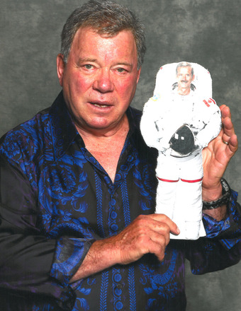 William Shatner Tweets Astronaut in Space, Gets Trekkie Response