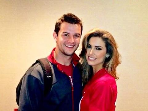 AJ McCarron's Girlfriend Steals Spotlight at BCS Championship Game