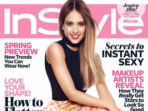 Jessica Alba Talks Marriage and Motherhood