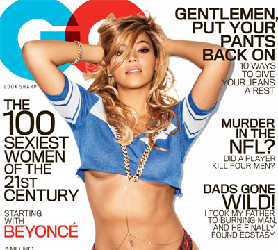 Extra Scoop: Beyoncé Shows Off Sexy Torso on GQ Cover