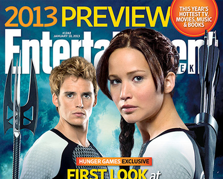 First Look! Katniss and Finnick in 'Hunger Games' Sequel 'Catching Fire'