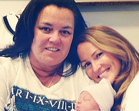 Rosie O'Donnell Welcomes New Daughter!