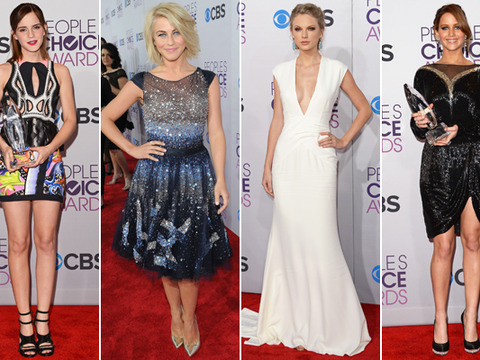 People's Choice Awards Red Carpet: Vote for Your Favorite Fashionista