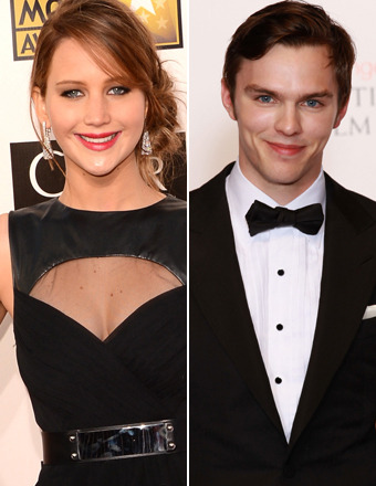 Jennifer Lawrence and Nicholas Hoult Split