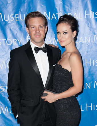 Jason Sudeikis and Olivia Wilde Engag