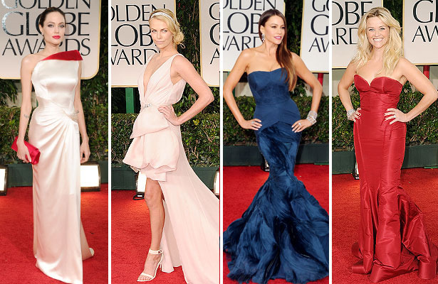 Fashion Flashback: Golden Globes 2012 Red Carpet