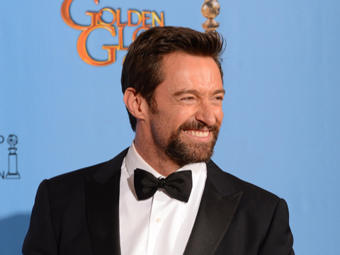 Video! Hugh Jackman's Golden Globes Victory Dance
