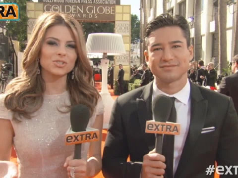 Watch 'Extra's' Funniest Golden Globes Outtakes
