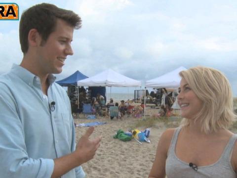 Julianne Hough: Ryan Seacrest Cries at Kleenex Commercials