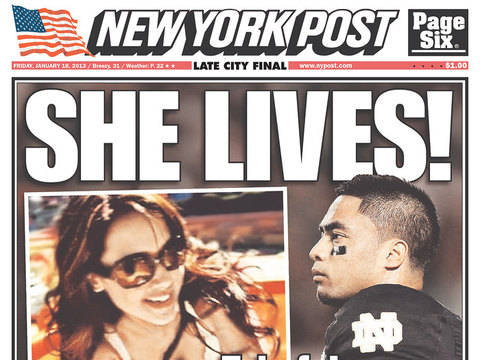 She's Alive! Fake, Allegedly Dead 'Girlfriend' in Manti Te'o Hoax Revealed