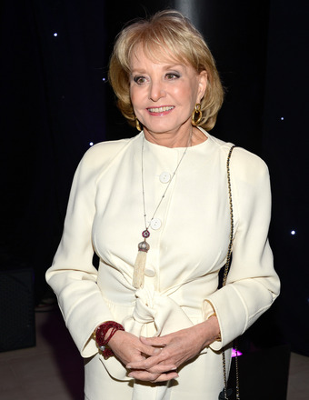 Barbara Walters Hospitalized, on the Mend from a Fall