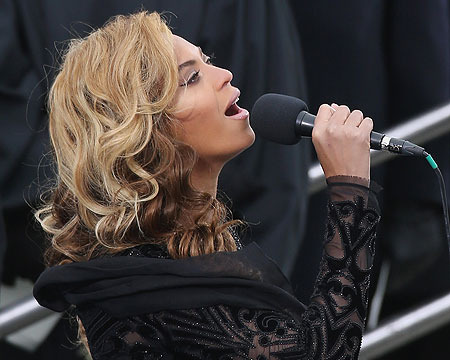 Beyoncé, Kelly Clarkson and James Taylor Shine at Obama's Inauguration