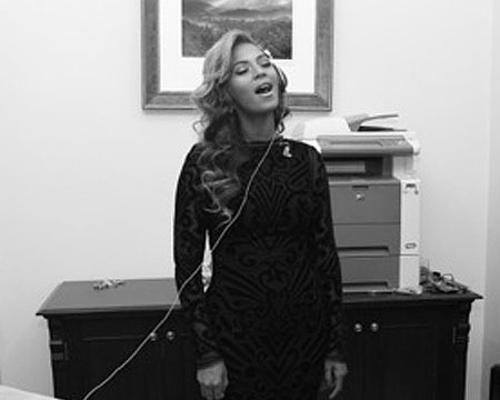 Pics! Beyoncé's Photo Diary of the Inauguration