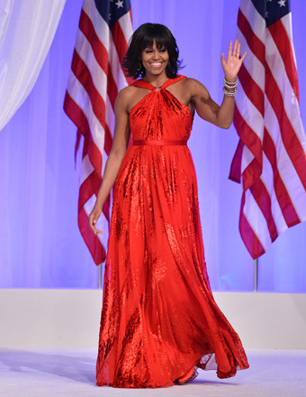 Michelle Obama Stuns in Jason Wu Gown, Leaves Designer in S