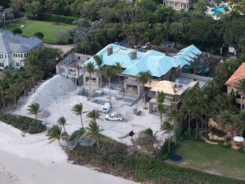 Elin Nordegren's $12-Mil Divorce Mansion Near Completion